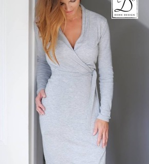Dehn Design Tara kjole, lysgrå